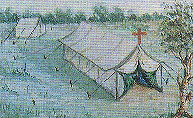 images/Images/HistoryTimeline/Mass_Tent_used_by_REv_Henry_Backhaus_1852.jpg